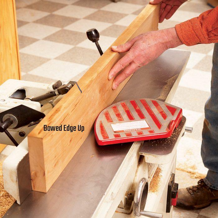 Bowed edge up   Construction Pro Tips