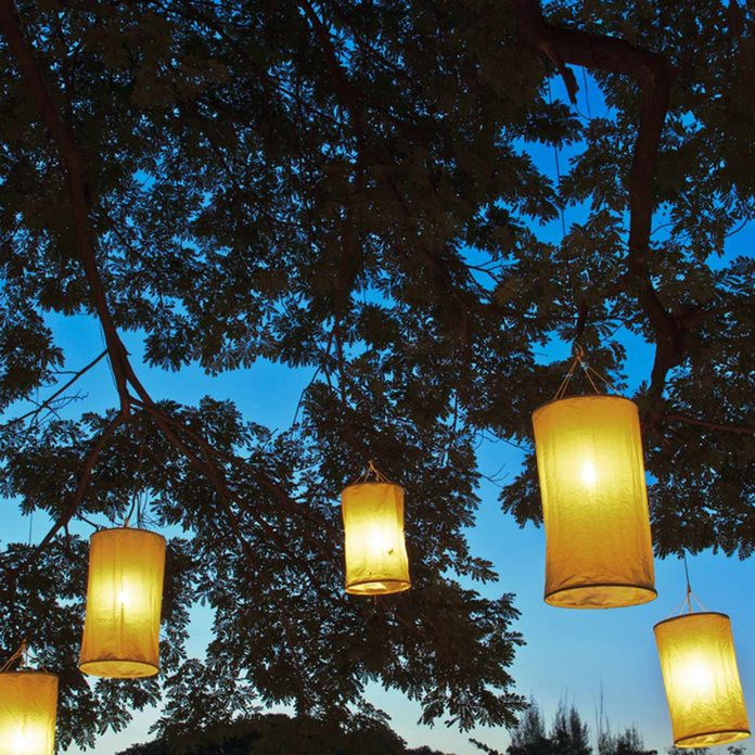 Hanging Lantern Lights