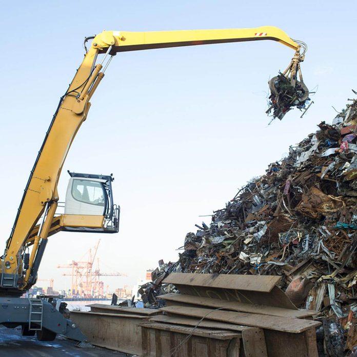 Landfill Garbage Scrap metal