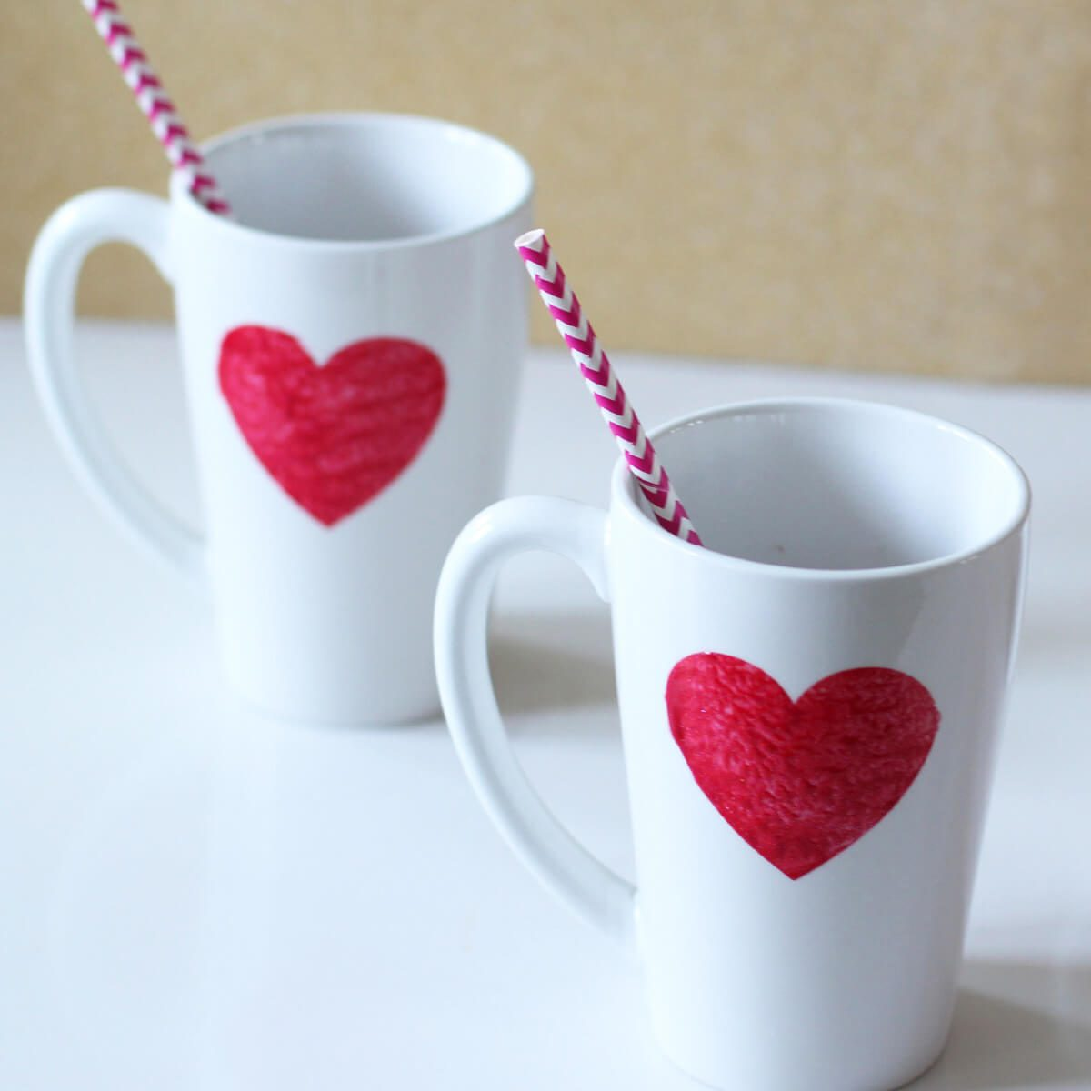 heart mug valentine