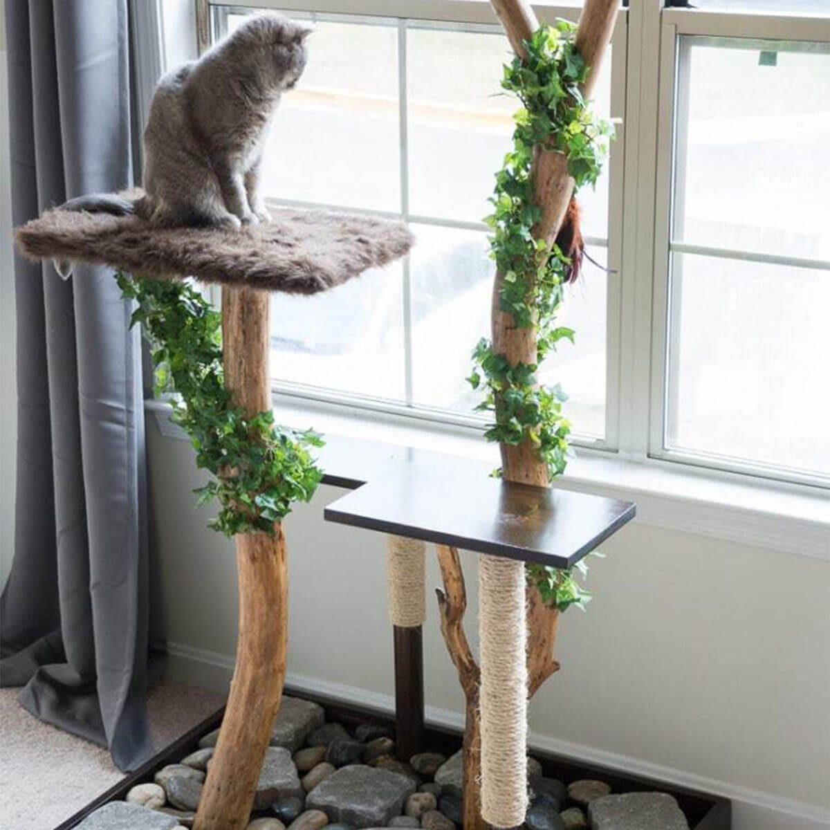 natural cat tree furniture