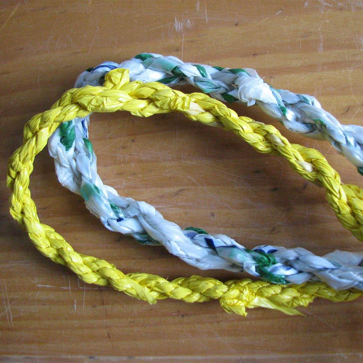 plastic bag rope