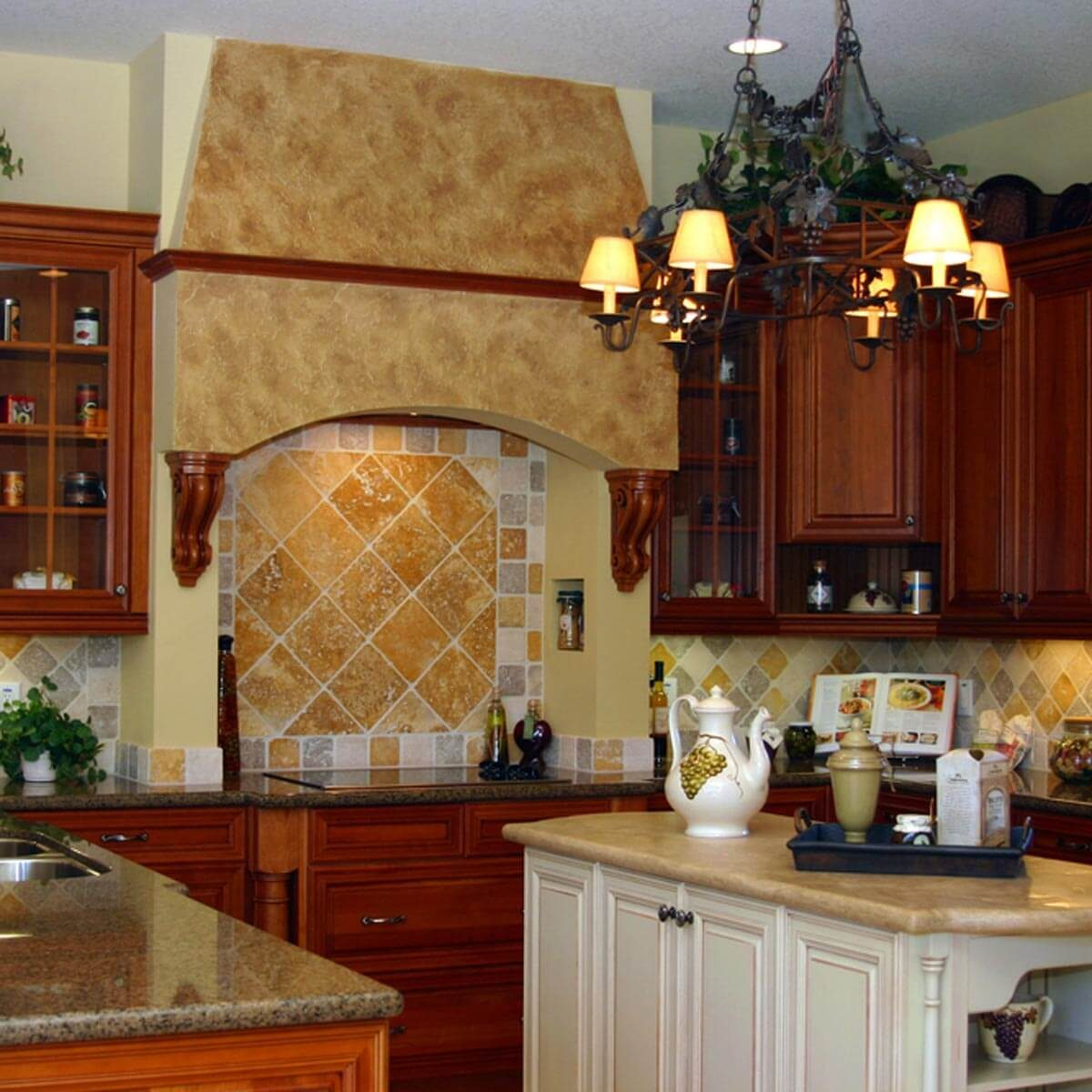 Tuscan-Inspired Kitchen