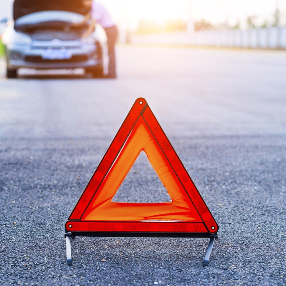 car emergency kit Car having problems on the road