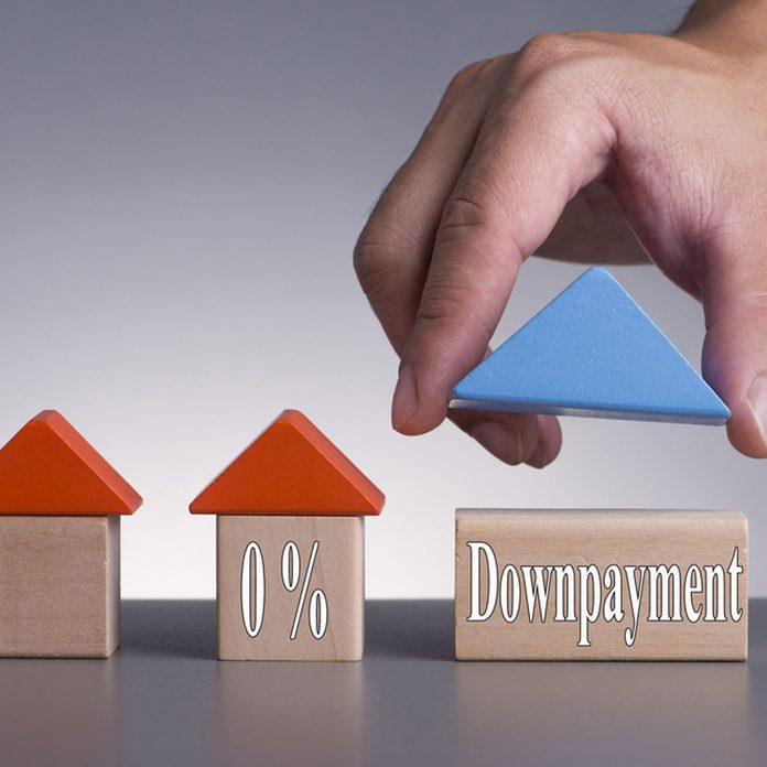 0% downpayment buying a house