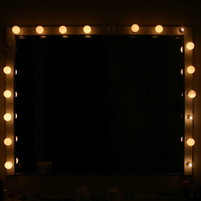 Hollywood-Style Bathroom Lighting