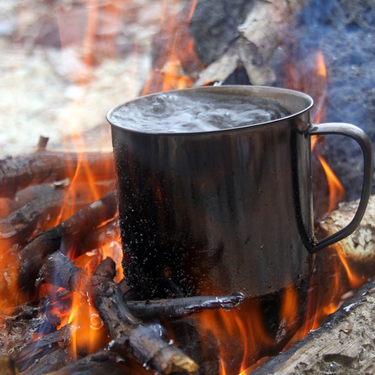 camping Boil Drinking Water
