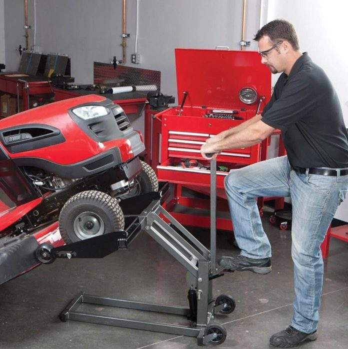 ATV and Lawn Mower Lift