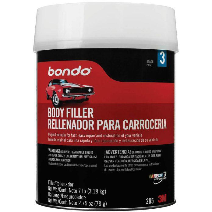 Bondo Car Body Filler