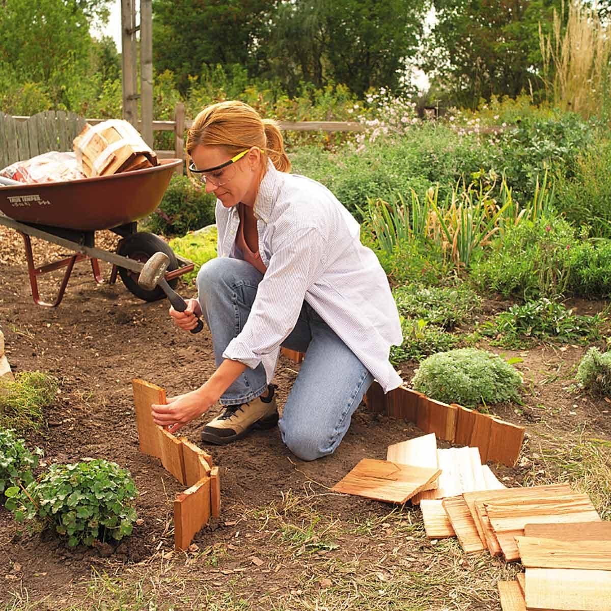 garden path cedar shakes
