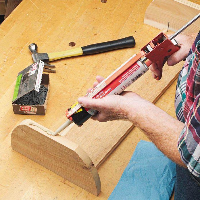 wood glue deck planter box