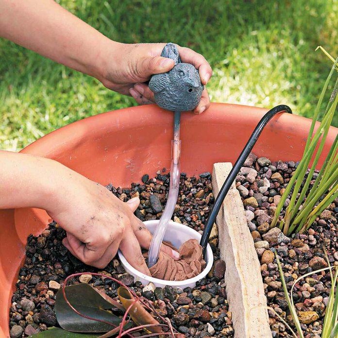 water gardens nylon stocking