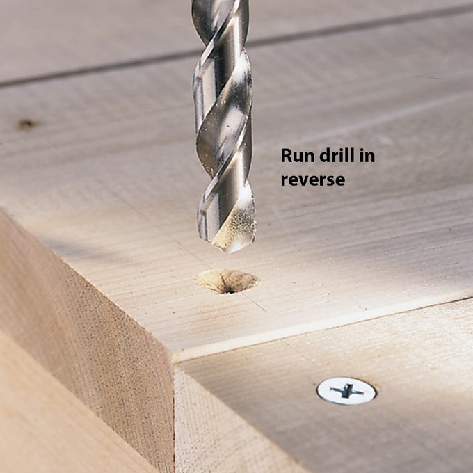 countersinking in softwoods