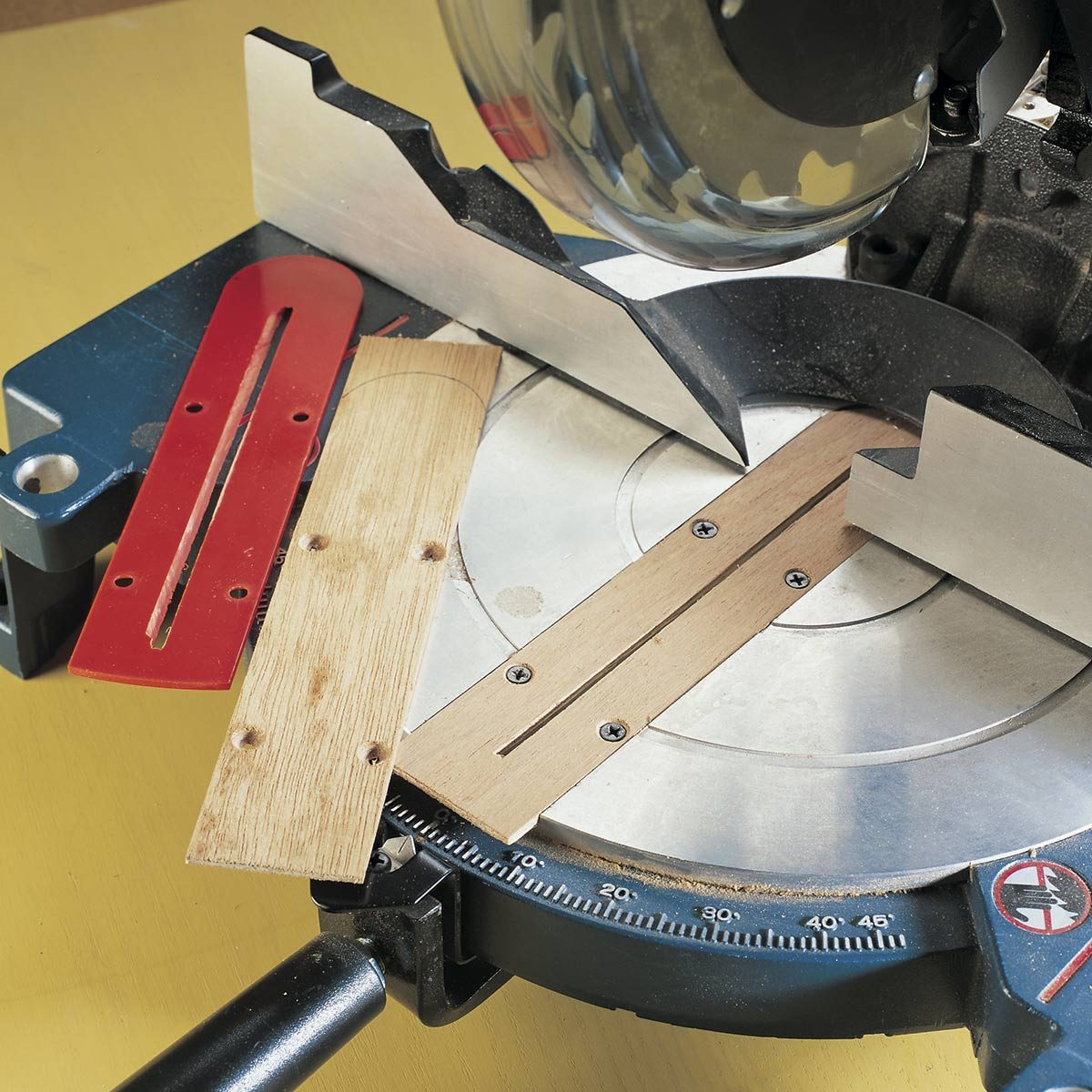 miter saw modification