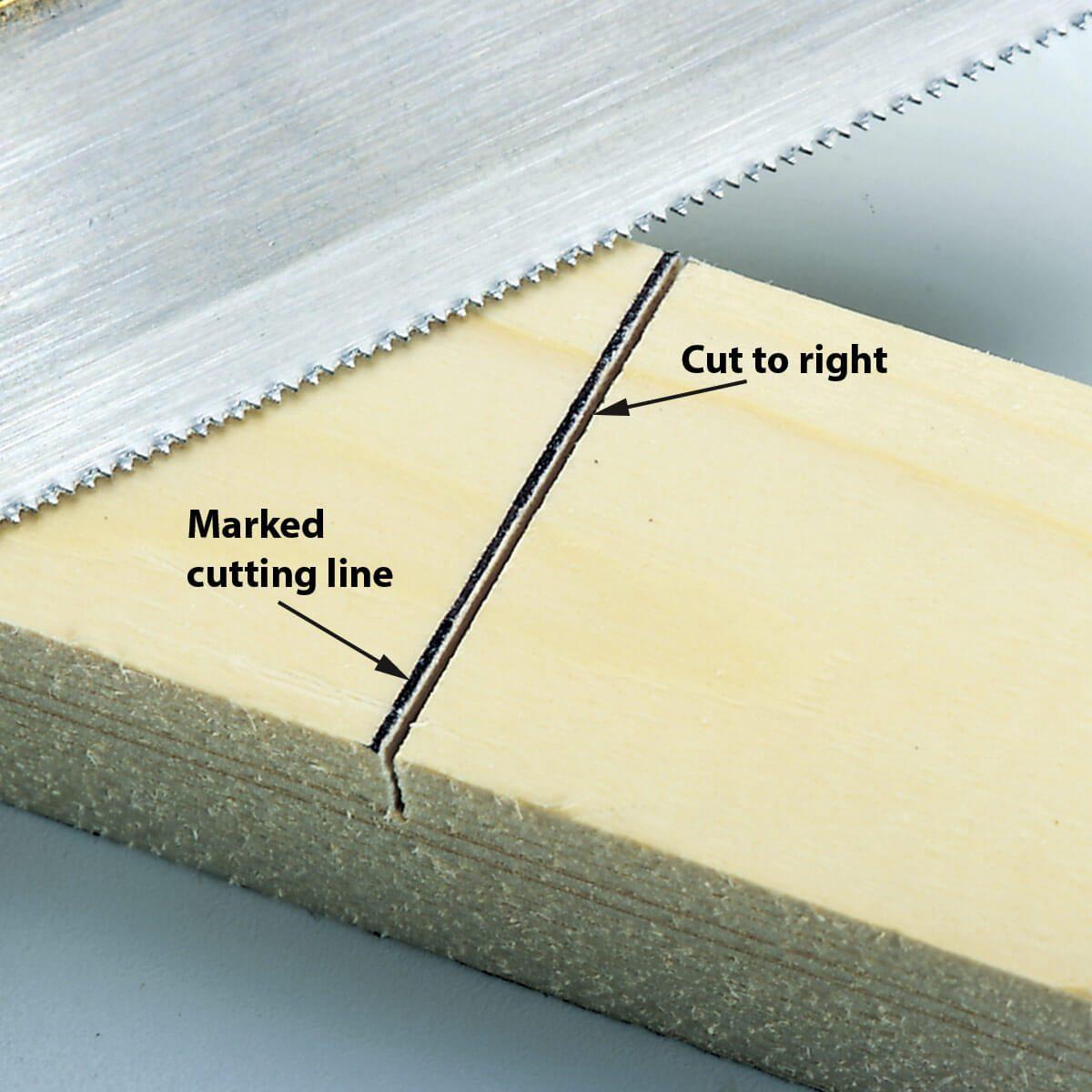 cut line and cut