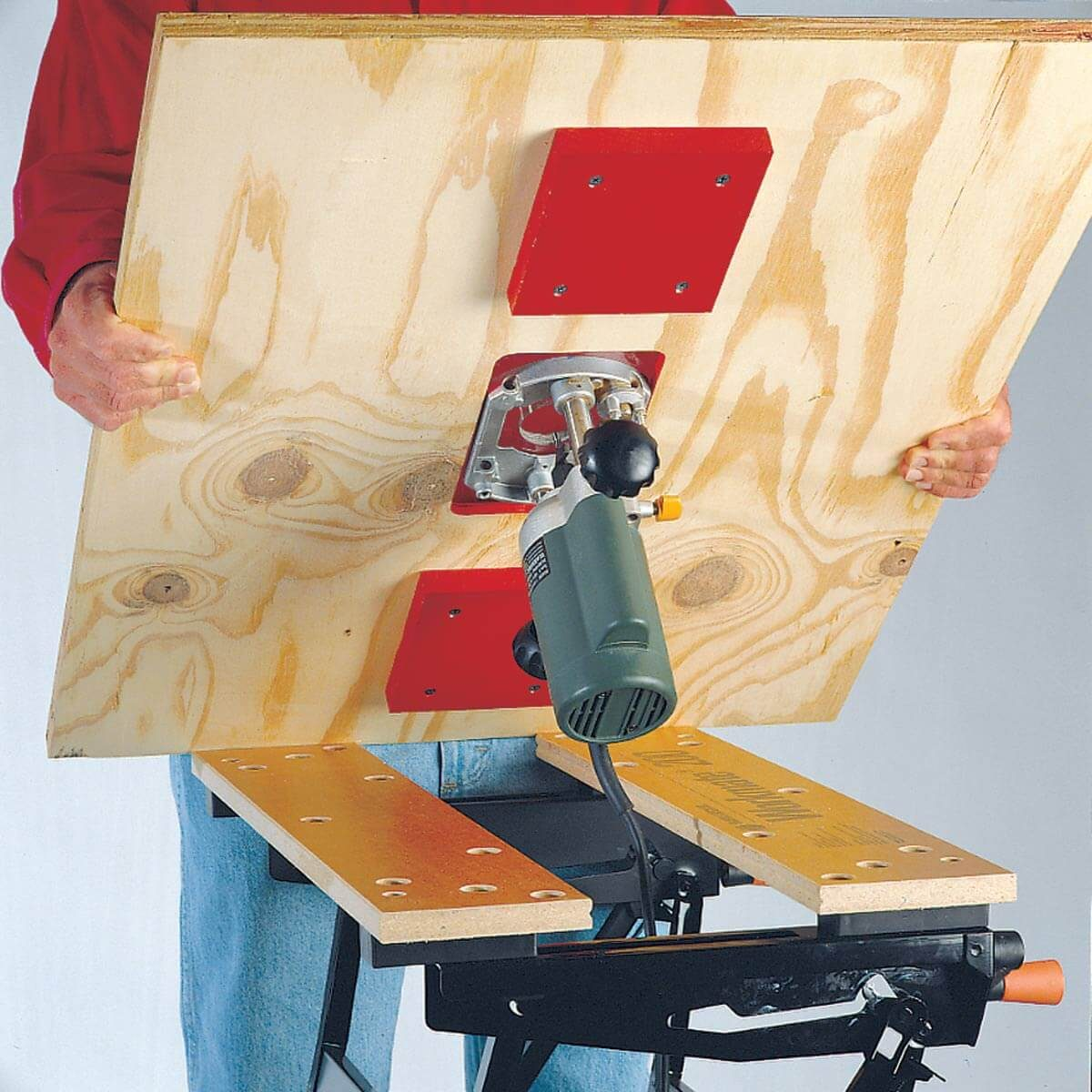 portable router table base