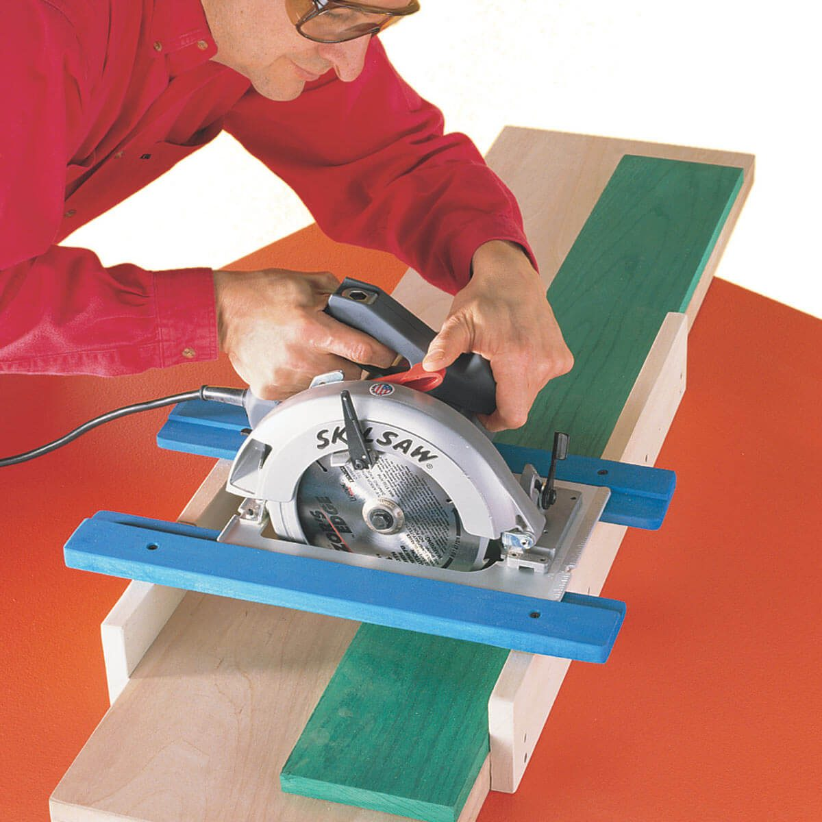 radial arm saw make shift