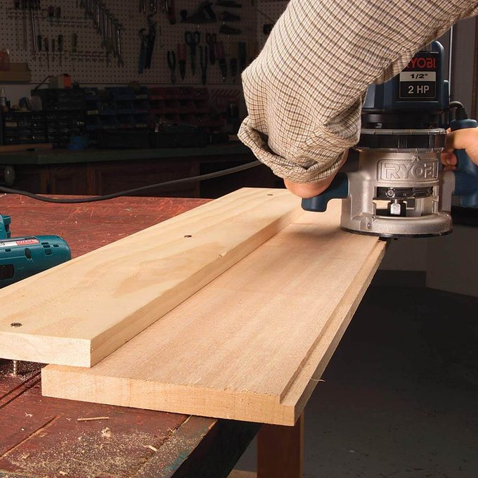 bridge clamp for routing
