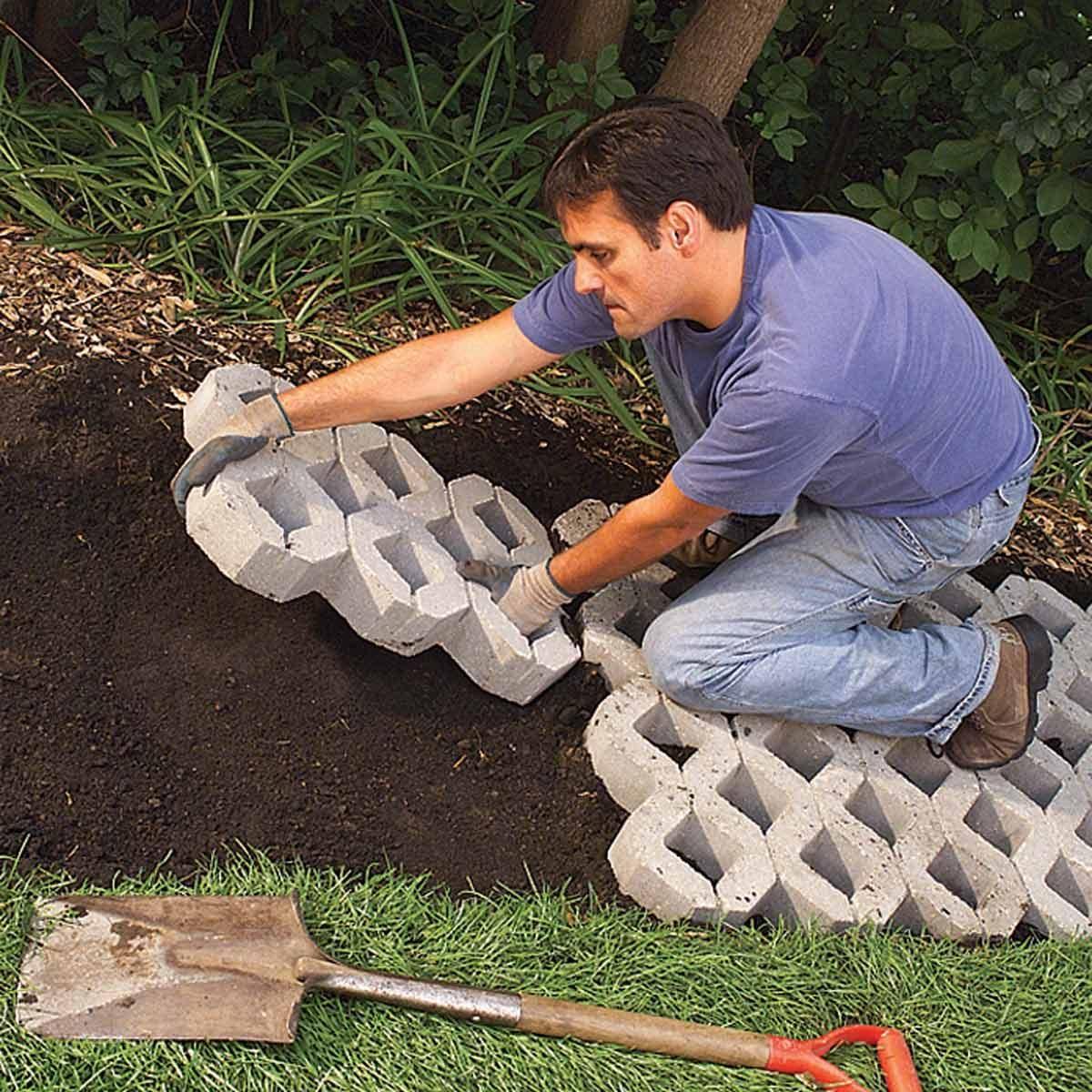 paver path that grows trufstone