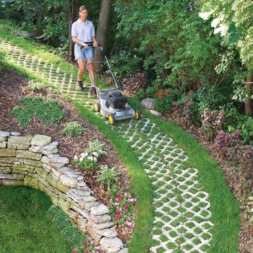 paver path that grows