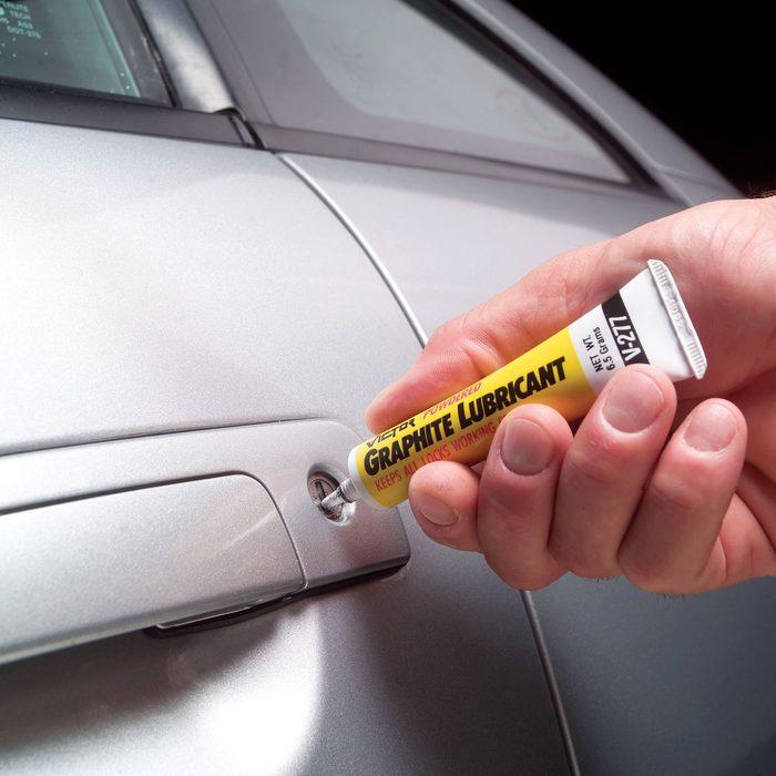lube car locks