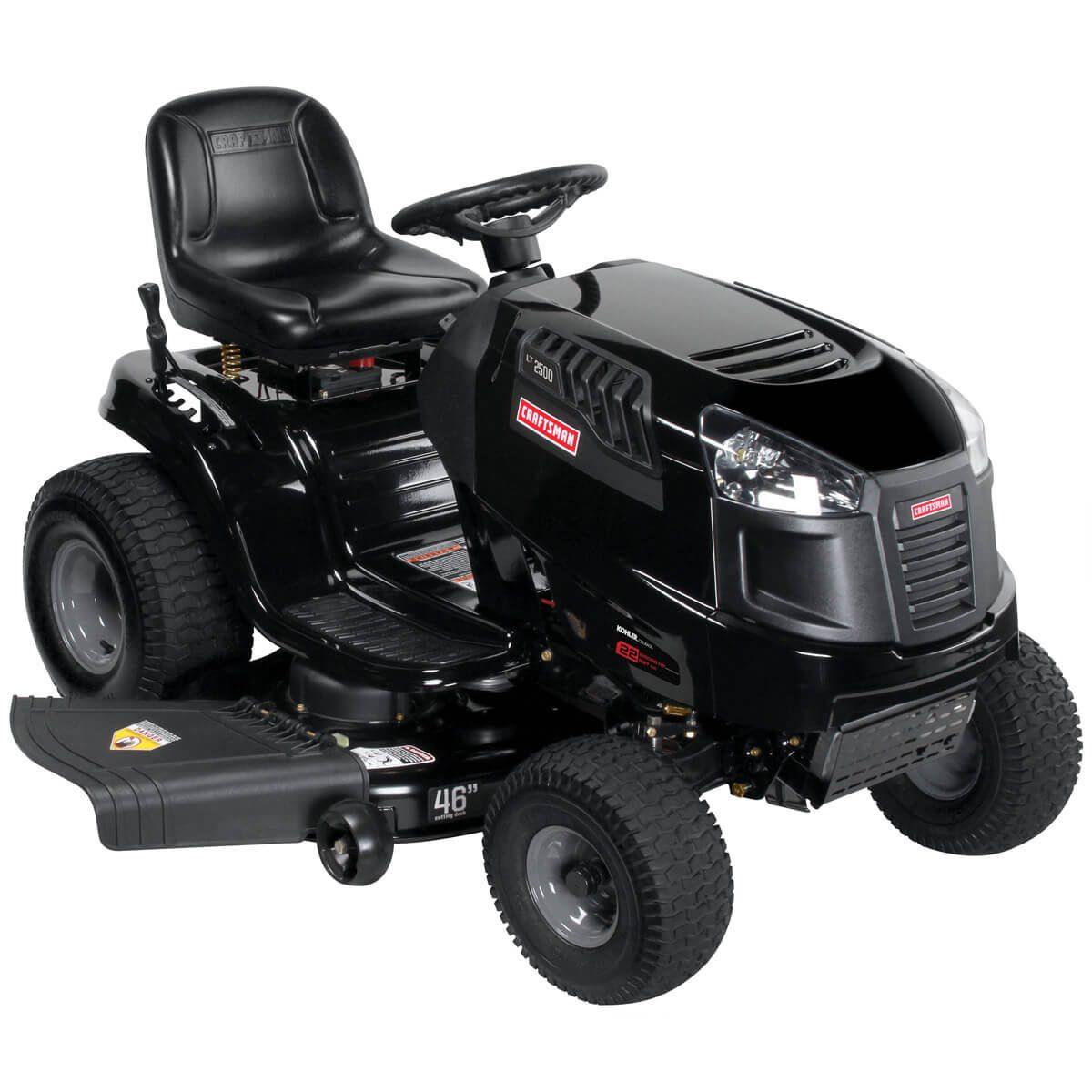 hydrostatic transmission lawn tractor