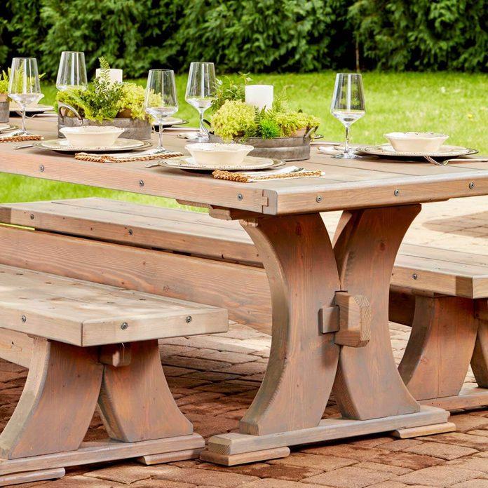 viking table finished