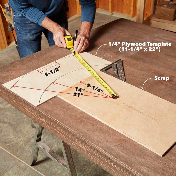 viking table leg template
