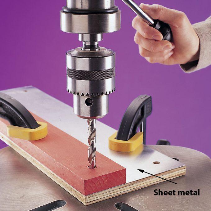 drilling sheet metal tip