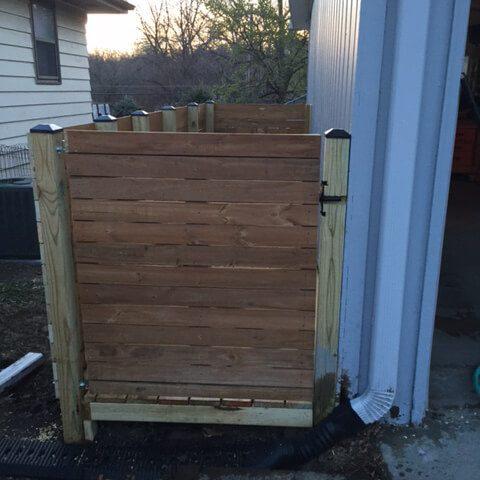 outdoor storage corral