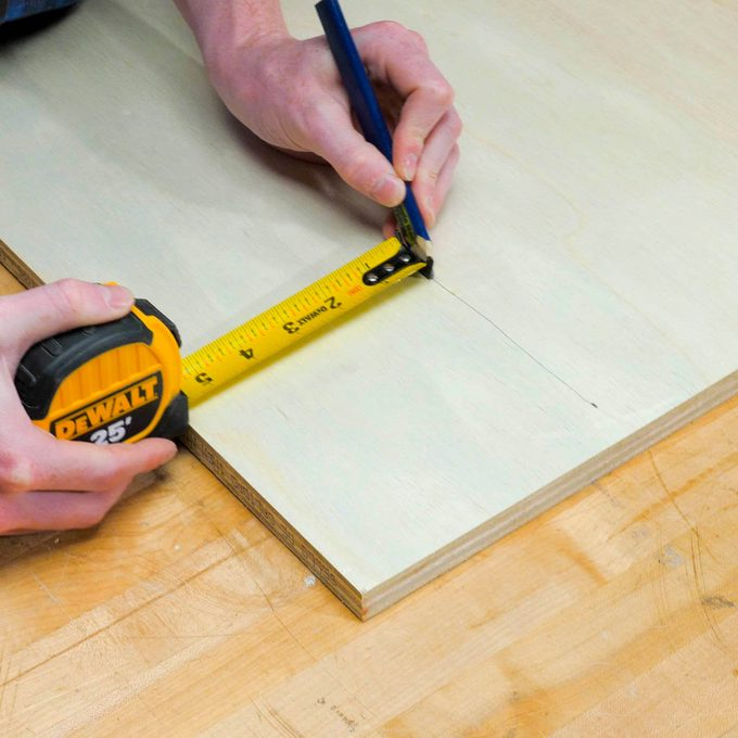 HH tape measure guided ruler