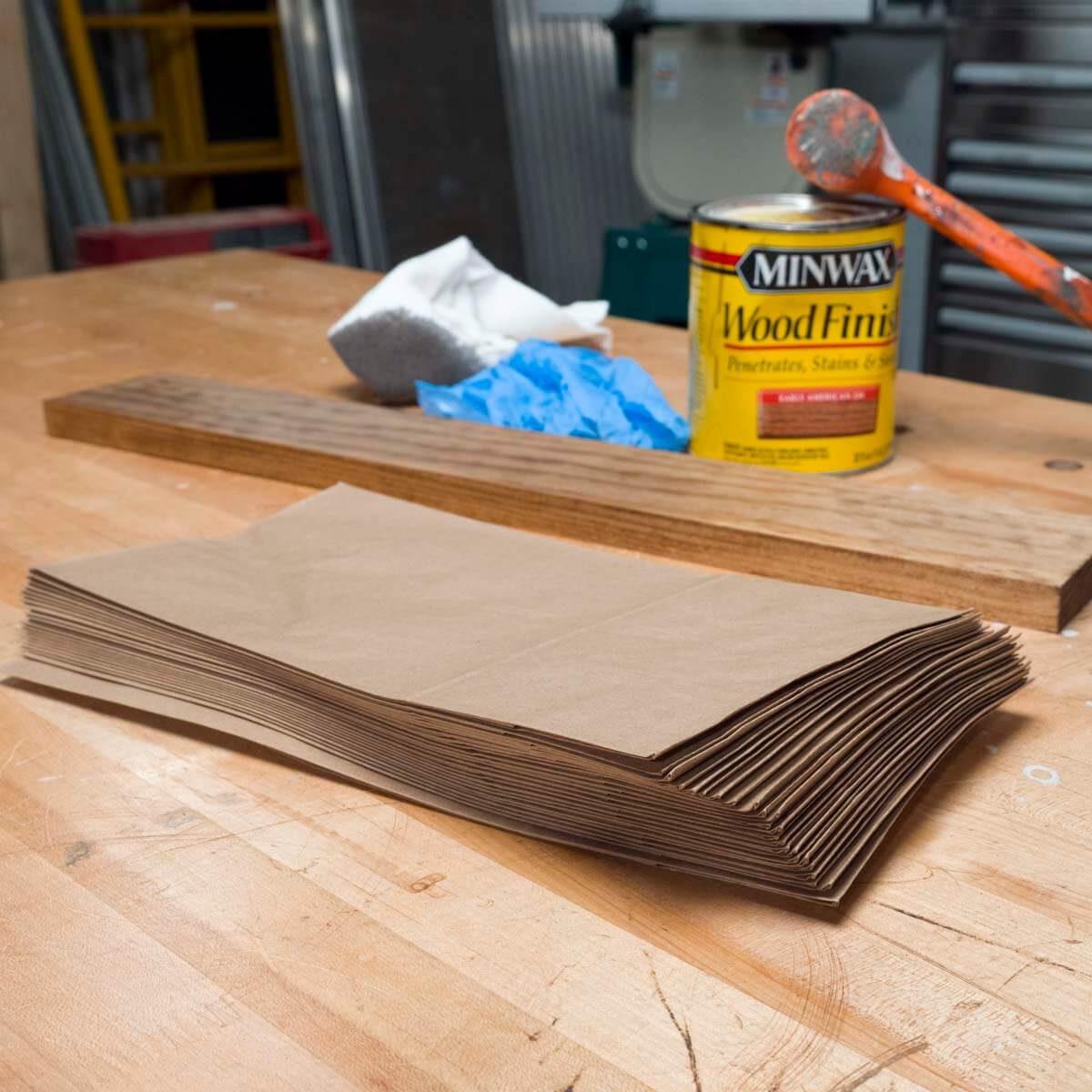 brown paper bag trick