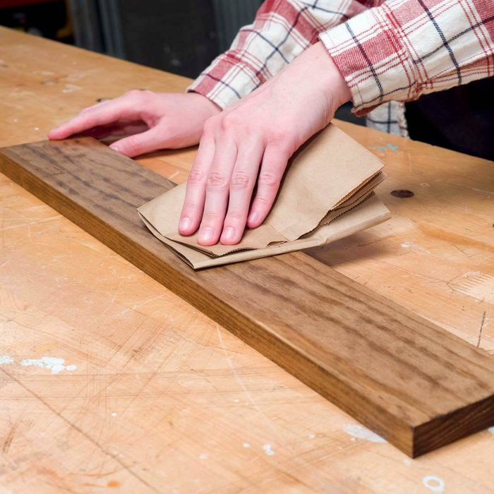 Brown Paper Bag Finishing Trick