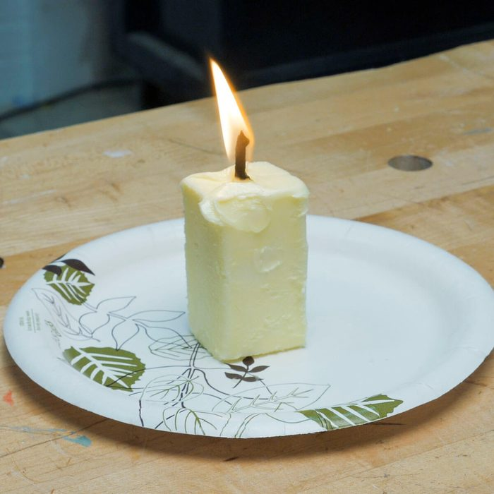 HH emergency candle lit butter