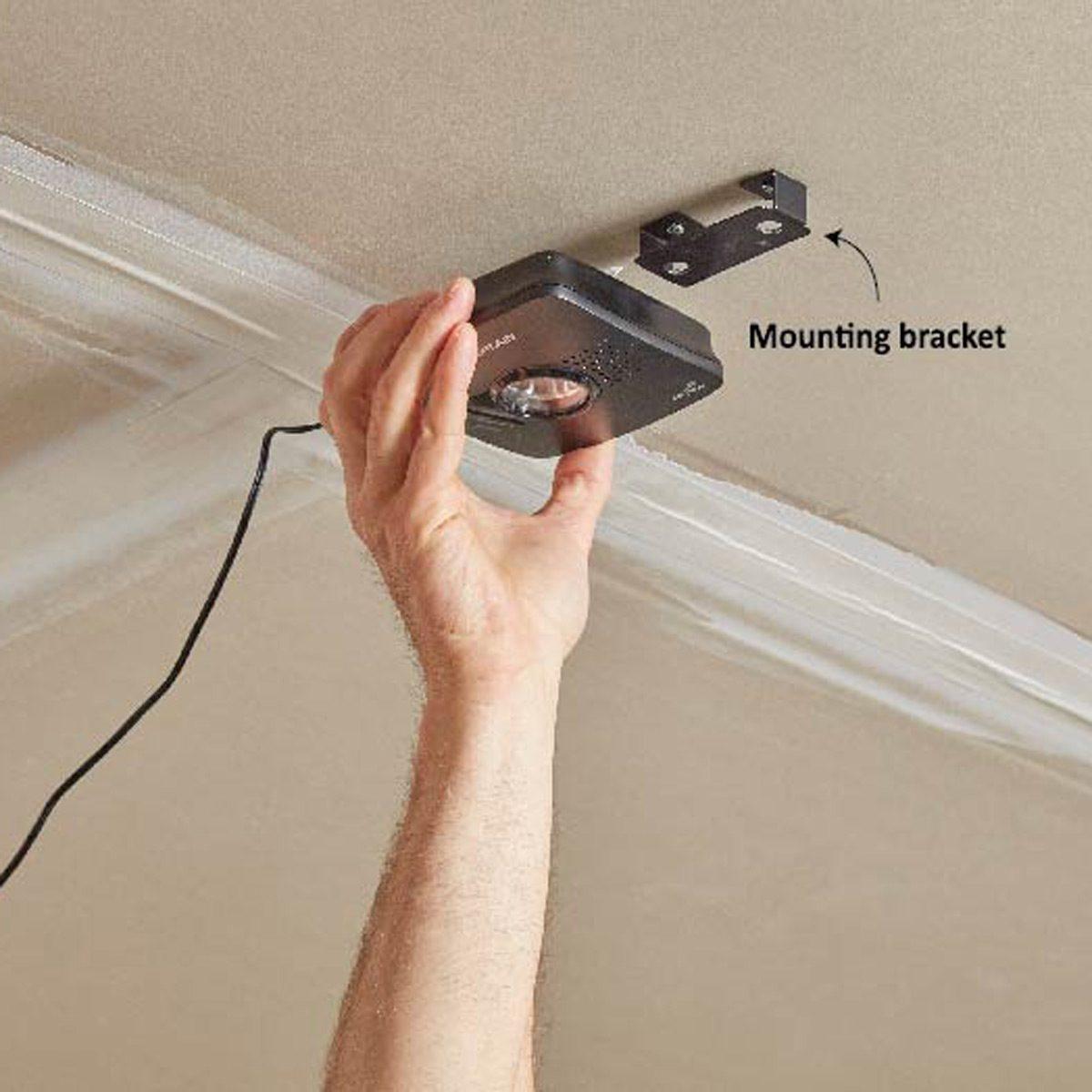 Mounting wi-fi garage controller