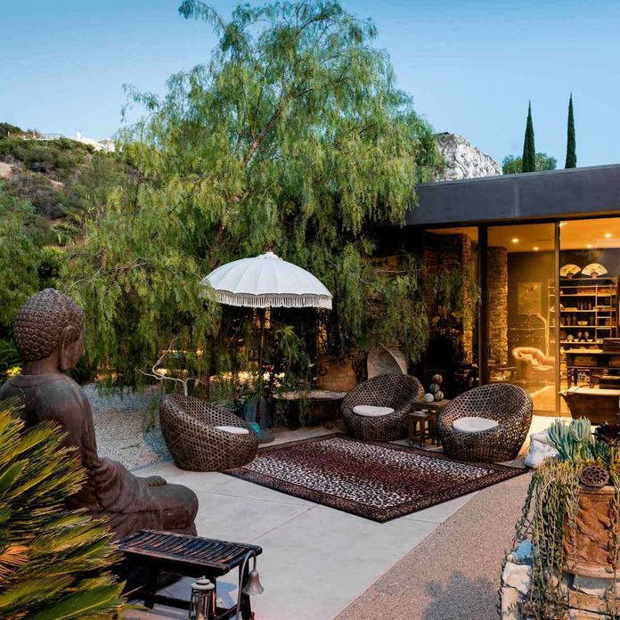 Asian-Inspired Patio