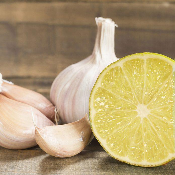 Garlic and Lemon Juice