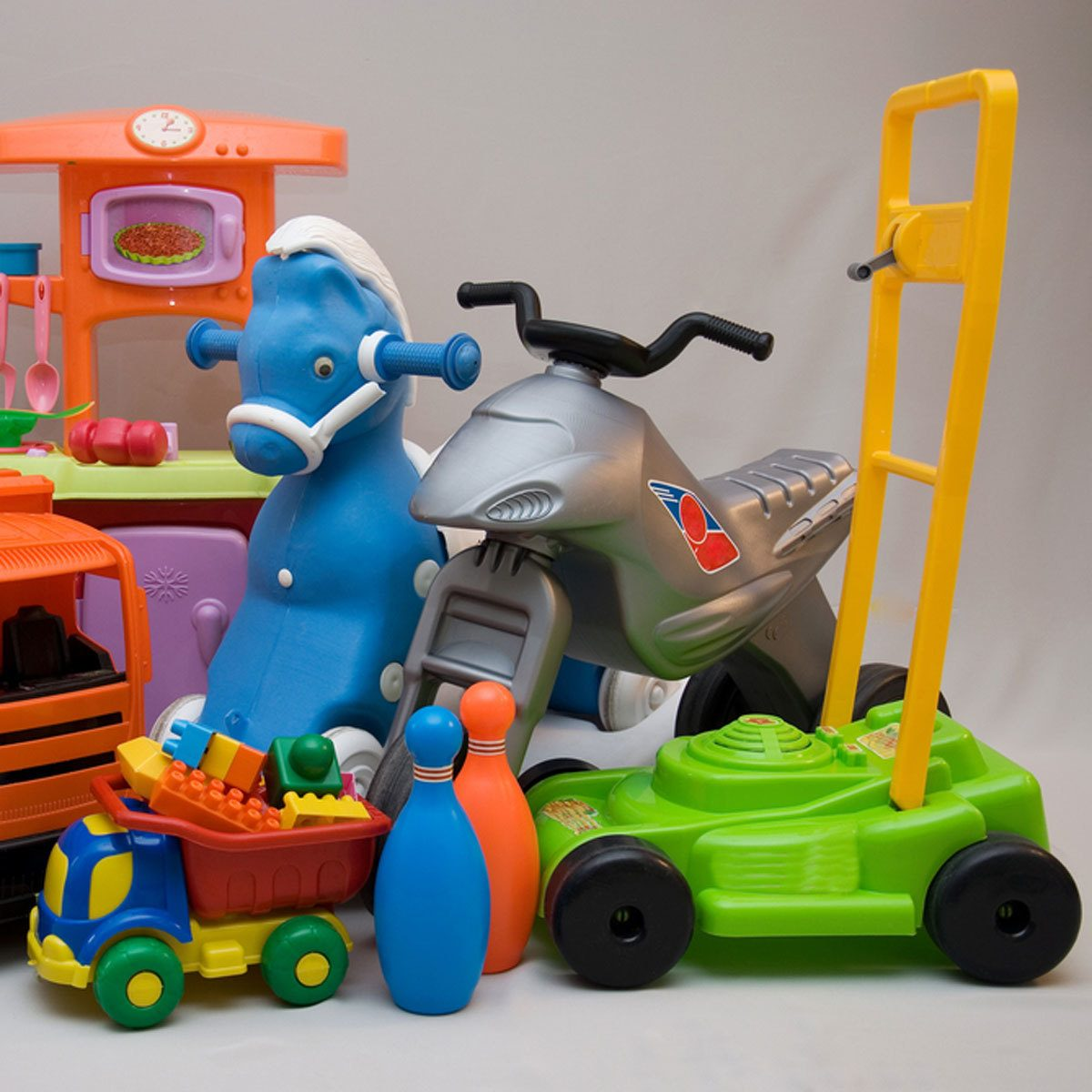 plastic toys