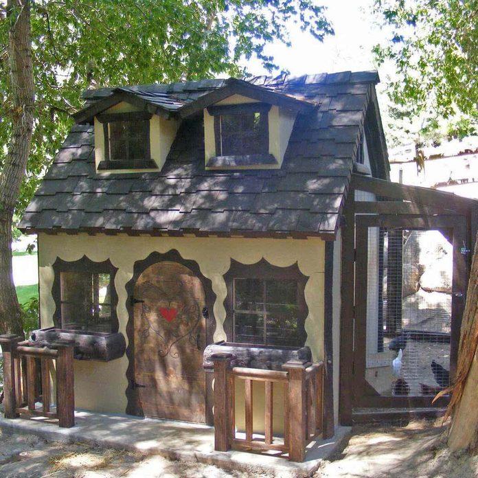 chicken coop cottage