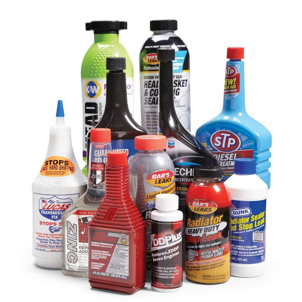 old automotive liquids