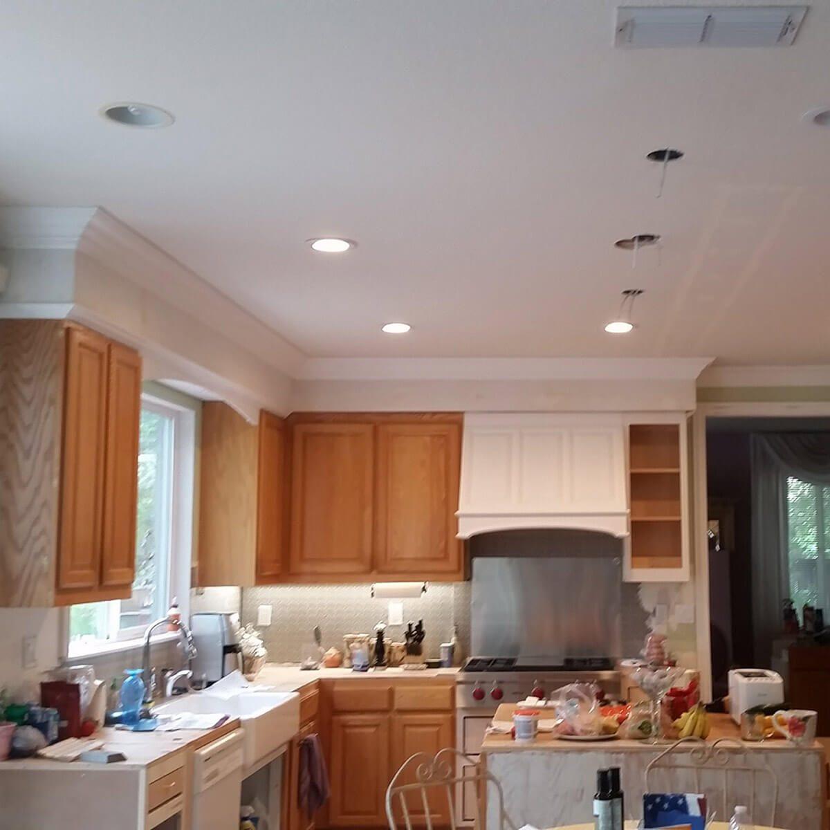 kitchen remodel -soffits