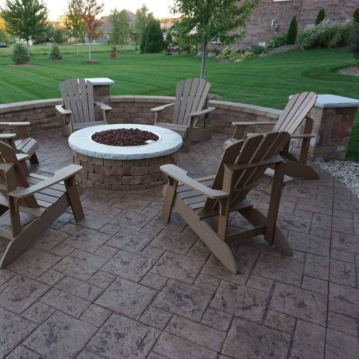 Fire Pit Centerpiece Patio