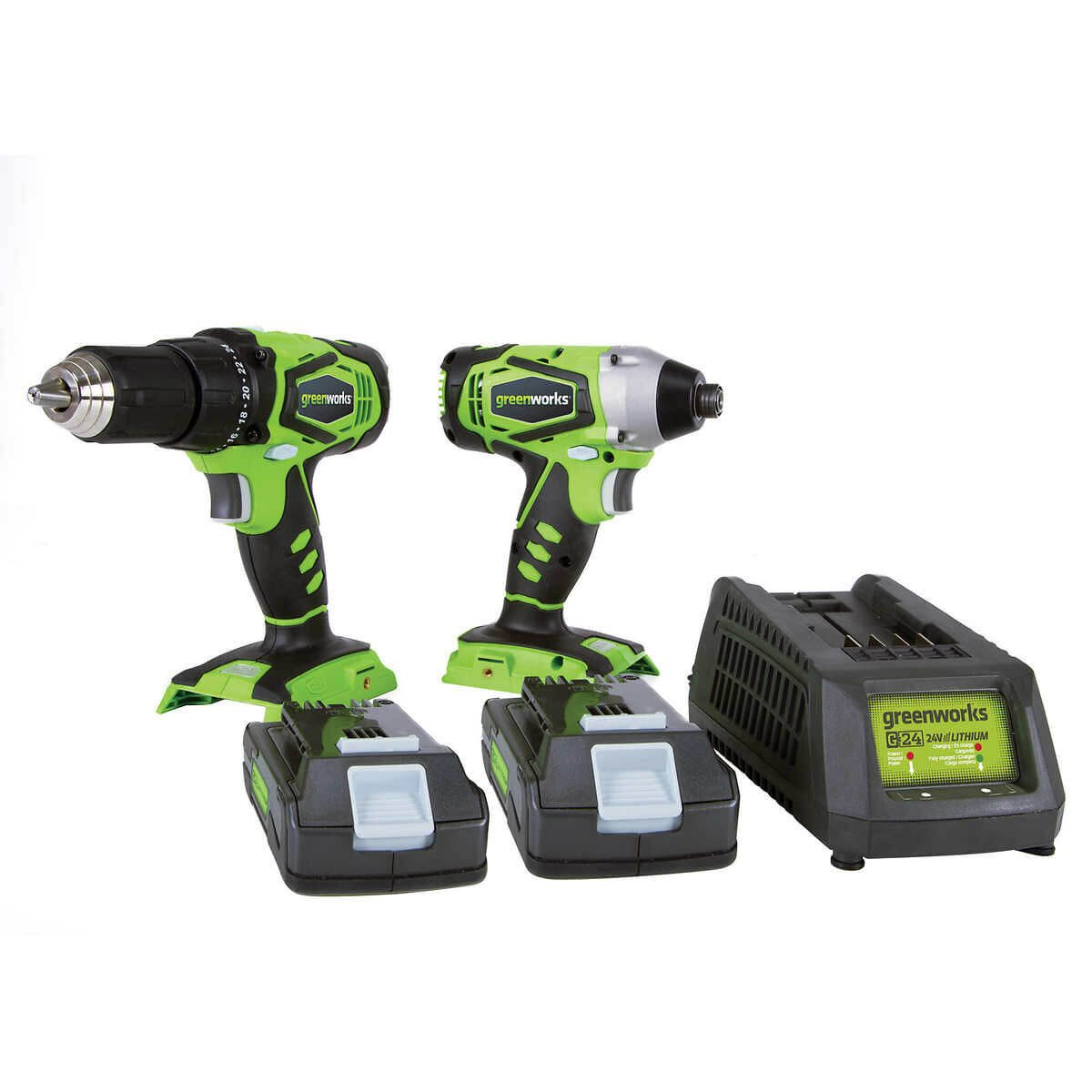 greenworks cordless drill