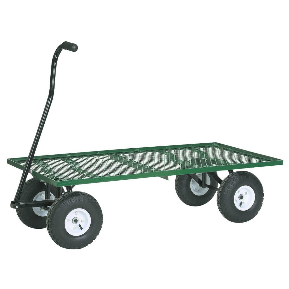 Gardening Mesh Steel Deck Wagon