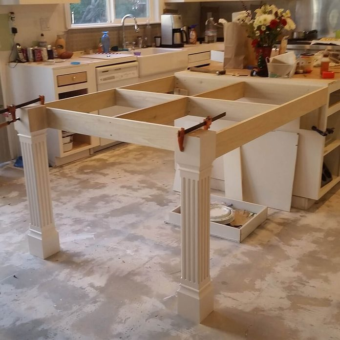 kitchen remodel - island