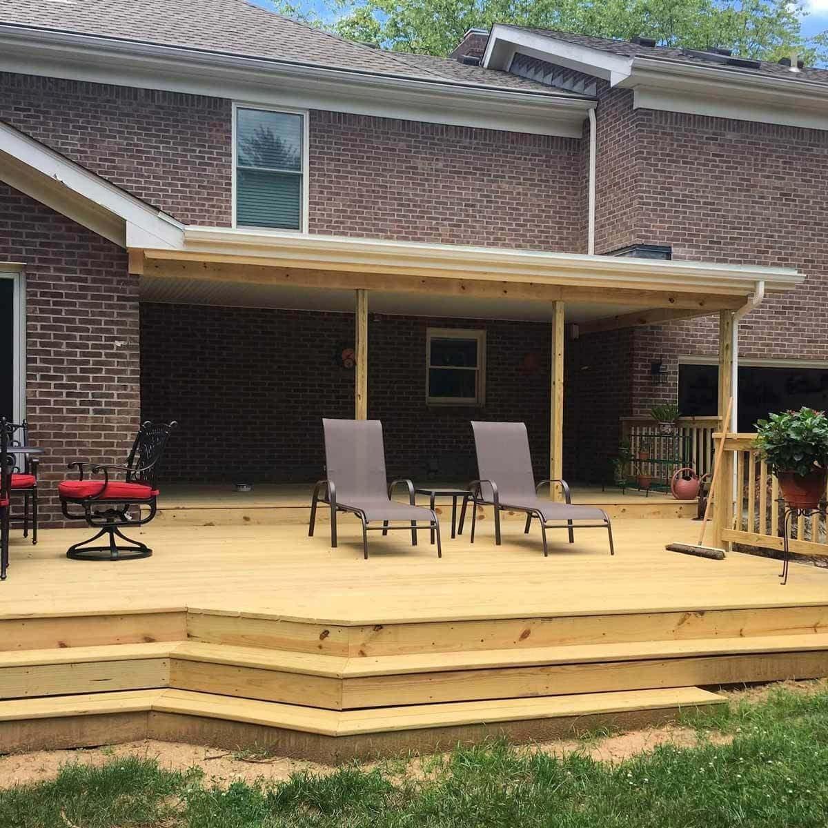 Large, Open Deck