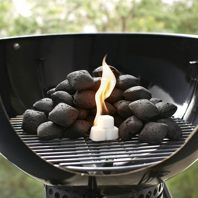 Lighter Cubes for grilling