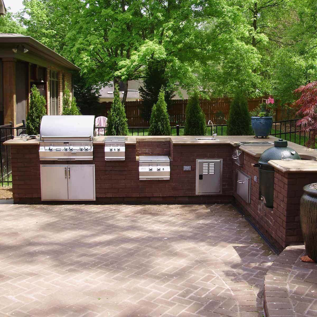 Patio with Grilling Station