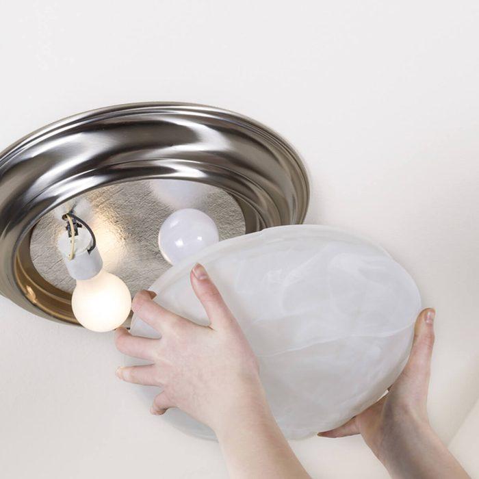 Ceiling Glass Light Fixtures