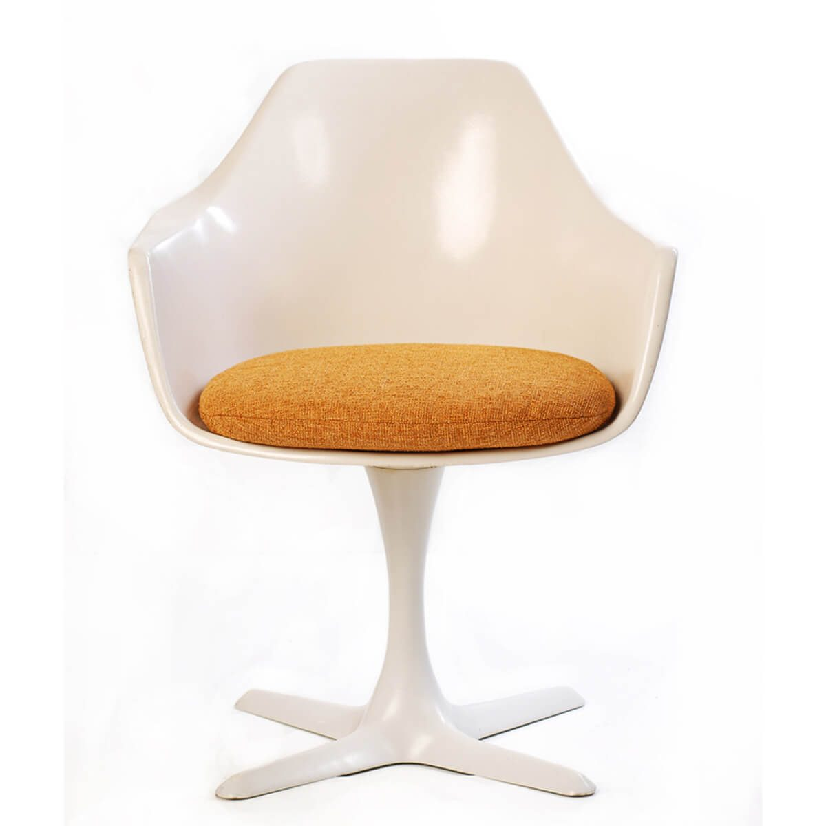 mid-century modern tulip chair